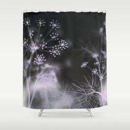 Silent Fireworks Shower Curtain