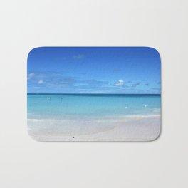 Caribbean Paradise Beach on Antigua Bath Mat