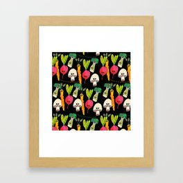 Welcome to the Garden Party Framed Art Print