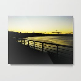 Waterline  Sunset Metal Print