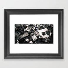 Former Glory: Chaos Framed Art Print