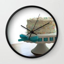 Birthday Cake Wall Clock