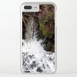 Spring runoff Clear iPhone Case
