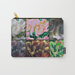 parrot tulips in a row or two Carry-All Pouch
