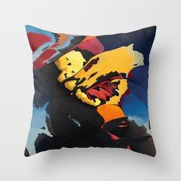 Sundown tropics Throw Pillow