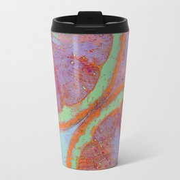 Summer Lemon (This Artwork is a collaboration with the talented artist Agostino Lo coco) Travel Mug