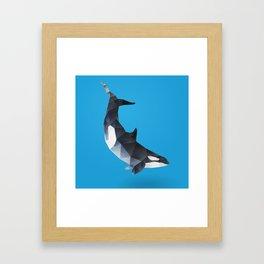 Killer Whale. Framed Art Print