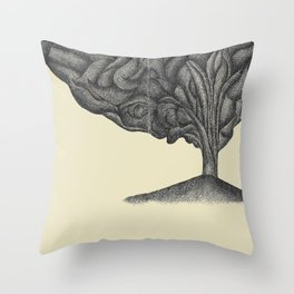 hopelessly devoted (old faithful, yellowstone, wyoming). Throw Pillow