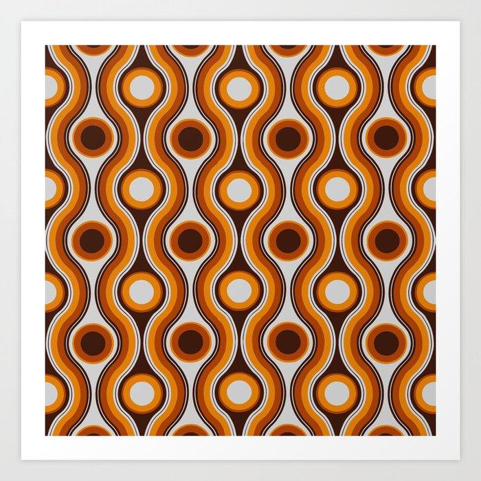 Older Patterns ~ Waves 70s Kunstdrucke