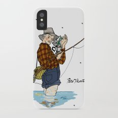 Pete Martell Pin-up iPhone X Slim Case