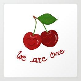 Oh cherry-cherry *in love* Art Print