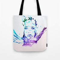 splash Tote Bags featuring Splash by CLE.ArT.