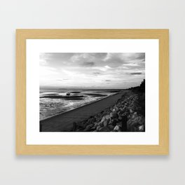 Cool Day in Cape Cod Framed Art Print