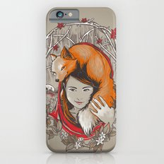 Safe in My Red Riding Hood Slim Case iPhone 6s