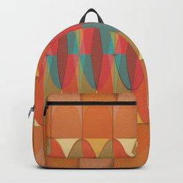 Wavy color stripe Backpack