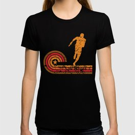 Retro Style Relay Race Runner Vintage Track T-shirt