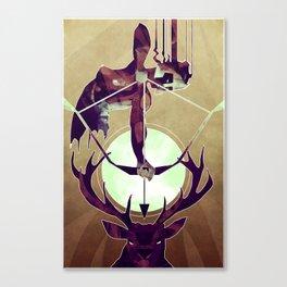 Artemis - The Huntress Canvas Print