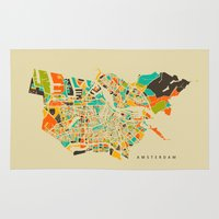 amsterdam Area & Throw Rugs featuring Amsterdam by Nicksman