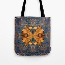 Lilium unravelling Tote Bag