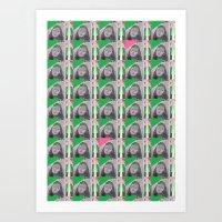 Green Lady - New York, 2011 Art Print