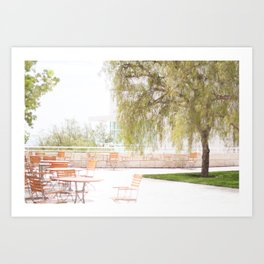 Getty Museum - A View Art Print