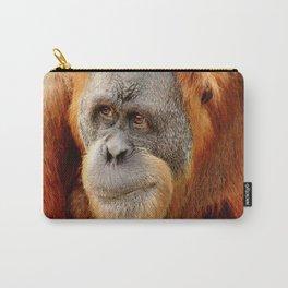 Observant Orangutan Carry-All Pouch