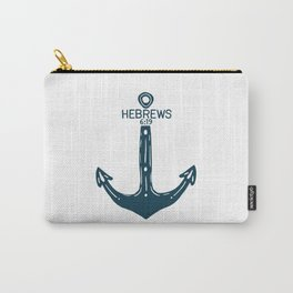 Hebrews Anchor Carry-All Pouch