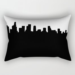 Los Angeles Shadow Rectangular Pillow