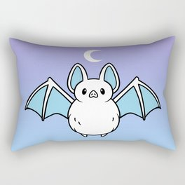 Cute Night Bat Rectangular Pillow