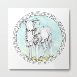 Dall's Sheep Metal Print