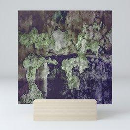 Grunge Camouflage Texture Print Mini Art Print