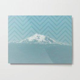 Portland Snowcaps Metal Print