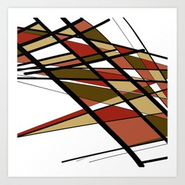 Urban Abstract IV Art Print