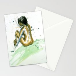 Nude Study Stationery Cards