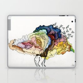 To Build Castles in Air. Laptop & iPad Skin
