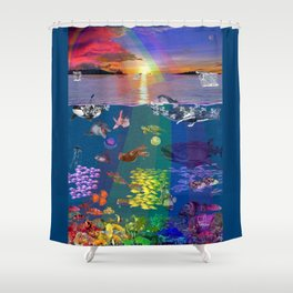 Canticle of the Sea Shower Curtain
