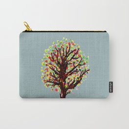 Grunge sketch of tree Carry-All Pouch
