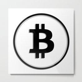 Bitcoin 17 Metal Print