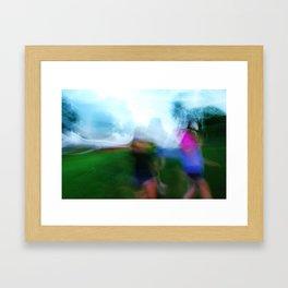 Walk. Part 2 Framed Art Print