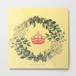 The Crown Flower Metal Print