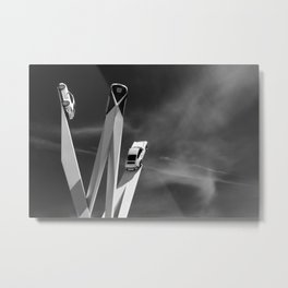 The Heart of Driving Metal Print
