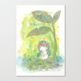 remember to breathe Canvas Print