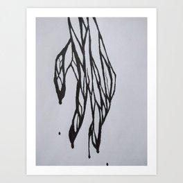 The Pain of a Friend Art Print