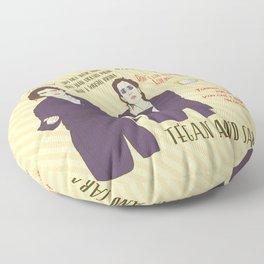 TEGAN AND SARA Floor Pillow