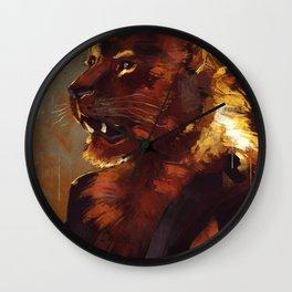 Dandy Lion Wall Clock