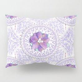 Delphinium Lace Pillow Sham