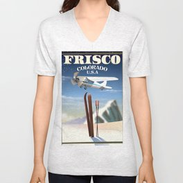 Frisco Colorado Unisex V-Neck