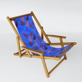 BlueSmallButterflies Sling Chair