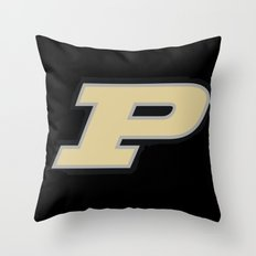 NCAA - Boilermakers Throw Pillow