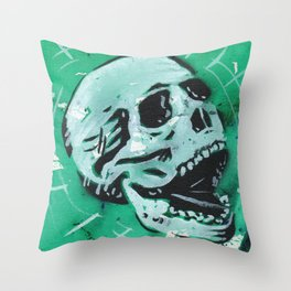 Gunga Skull 07 Throw Pillow